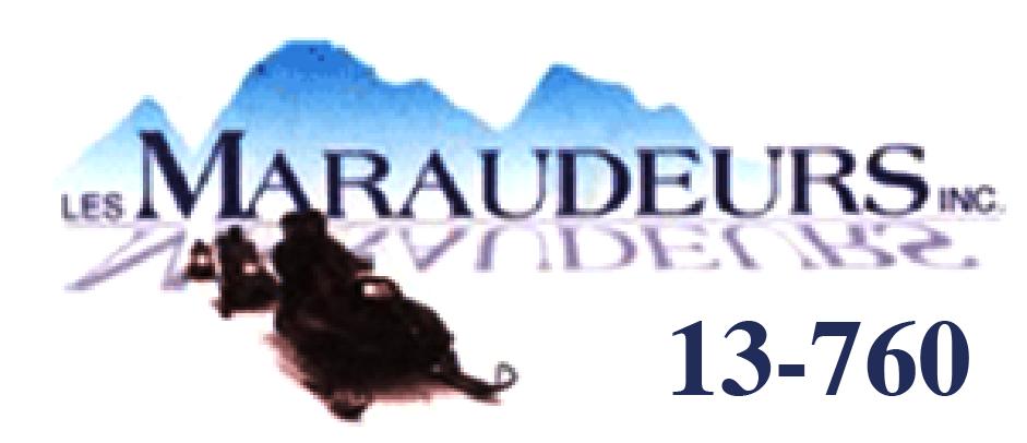 Club de motoneige Les Maraudeurs Inc.